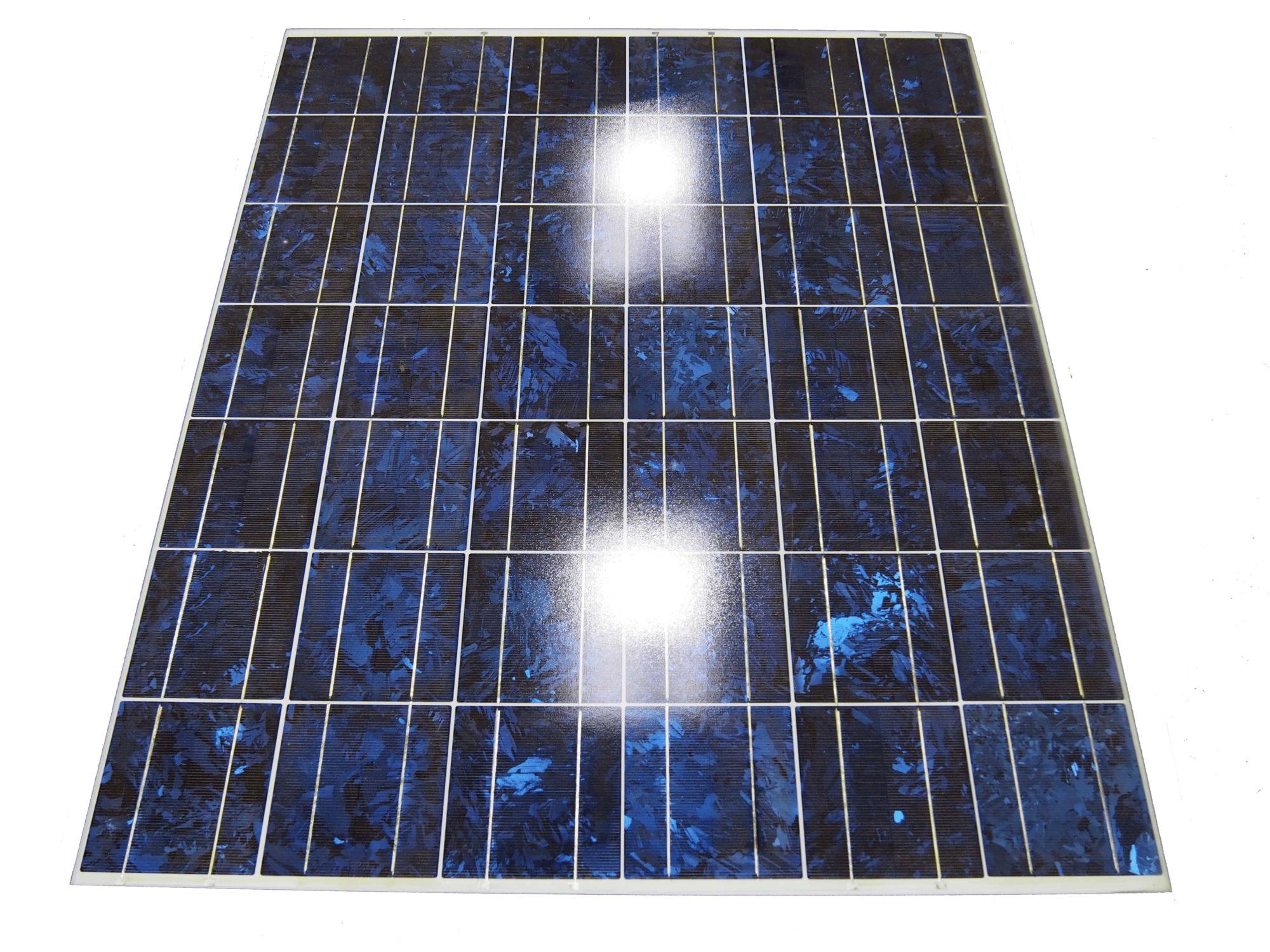 1.廃棄太陽光パネル